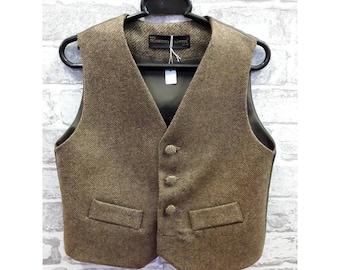 aa61245fe Boys waistcoat, Boys Vest, Boys Wool Vest, Boys Wool Waistcoat, Kids Pure  Wool Vest, Kids Pure Wool Waistcoat,