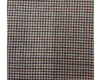 Men's Tweed Waistcoat, Men's Tweed Vest - Made to Order (Multi Check)