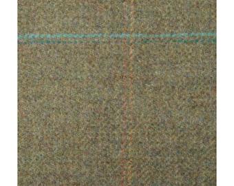 Men's Tweed Waistcoat, Men's Tweed Vest - Made to Order (Siskin, Green - blue/red/yellow stripe)