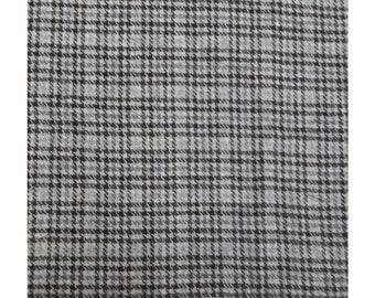 Men's Tweed Waistcoat, Men's Tweed Vest - Made To Order (Blue/Grey Check)