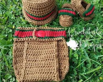 9977217072e Crochet Gucci Inspired Outfit