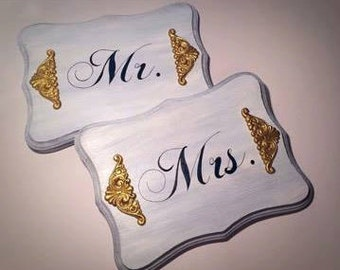 Mr. and Mrs., Mr. and Mrs. wedding sign, photo prop, wedding wood sign, engagement sign, wedding photo prop, engagement photo prop,