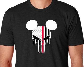 e91e15ee Mickey Punisher Shirt,Disney Punisher Shirt,American Flag Punisher,Mens  Disney Shirt,Disney Family Shirts,Disney Shirt,Disney shirt men