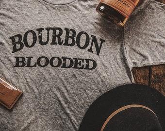 Bourbon Blooded T-shirt