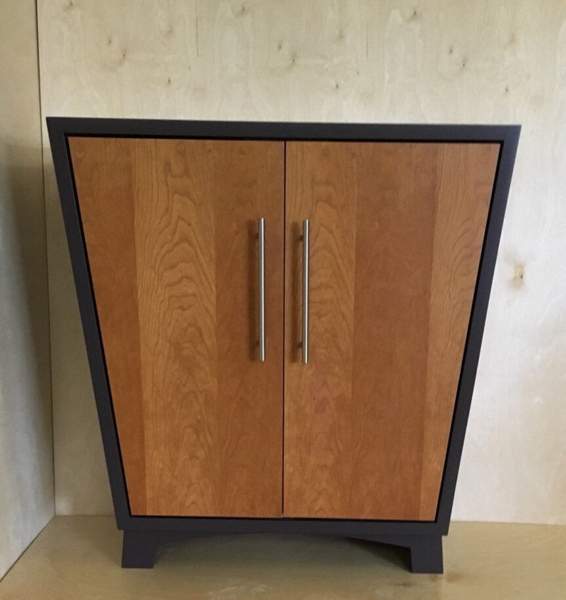 Etonnant Mid Century Modern Entryway Cabinet, Shoe Storage Cabinet With Doors, Shoe  Rack With Doors, Modern TV Stand,