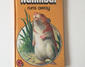 Vintage Retro 1970s 70s Ladybird childrens book - Hannibal Runs Away 1976