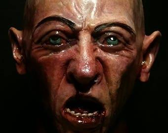 Screaming Fake Head Prop - Decapitated Latex Head
