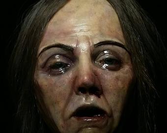 Fake Female Head - Decapitated Head Prop