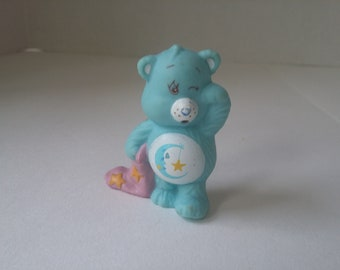 1980's Care Bear Bedtime Bear PVC Figure