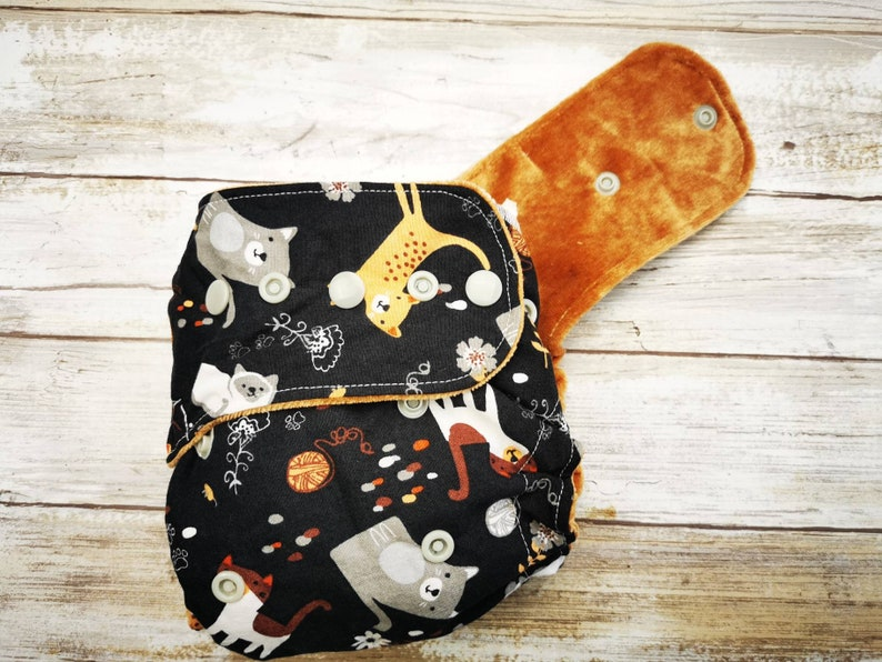 Hybrid Fitted or All In Two One Sized Cloth Diaper