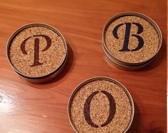 Rustic Mason Jar Coasters