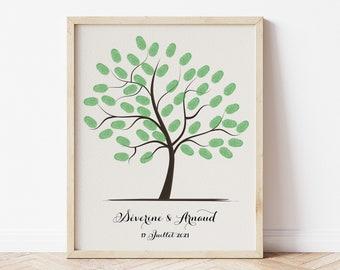 Custom print tree on rigid cardboard or PDF file