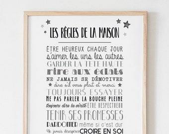 Poster The Rules of the House N-B