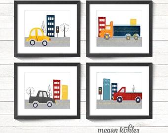 Nursery - Toddler Room - Cars - Trucks Printable