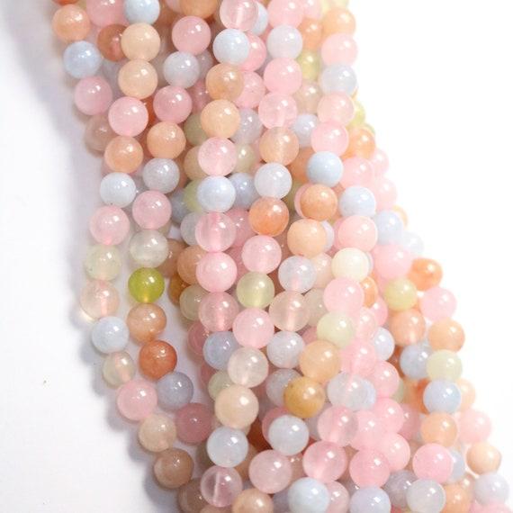 4.5mm 15 Inch Matte White Jade Beads Round Beads 4mm 434054018