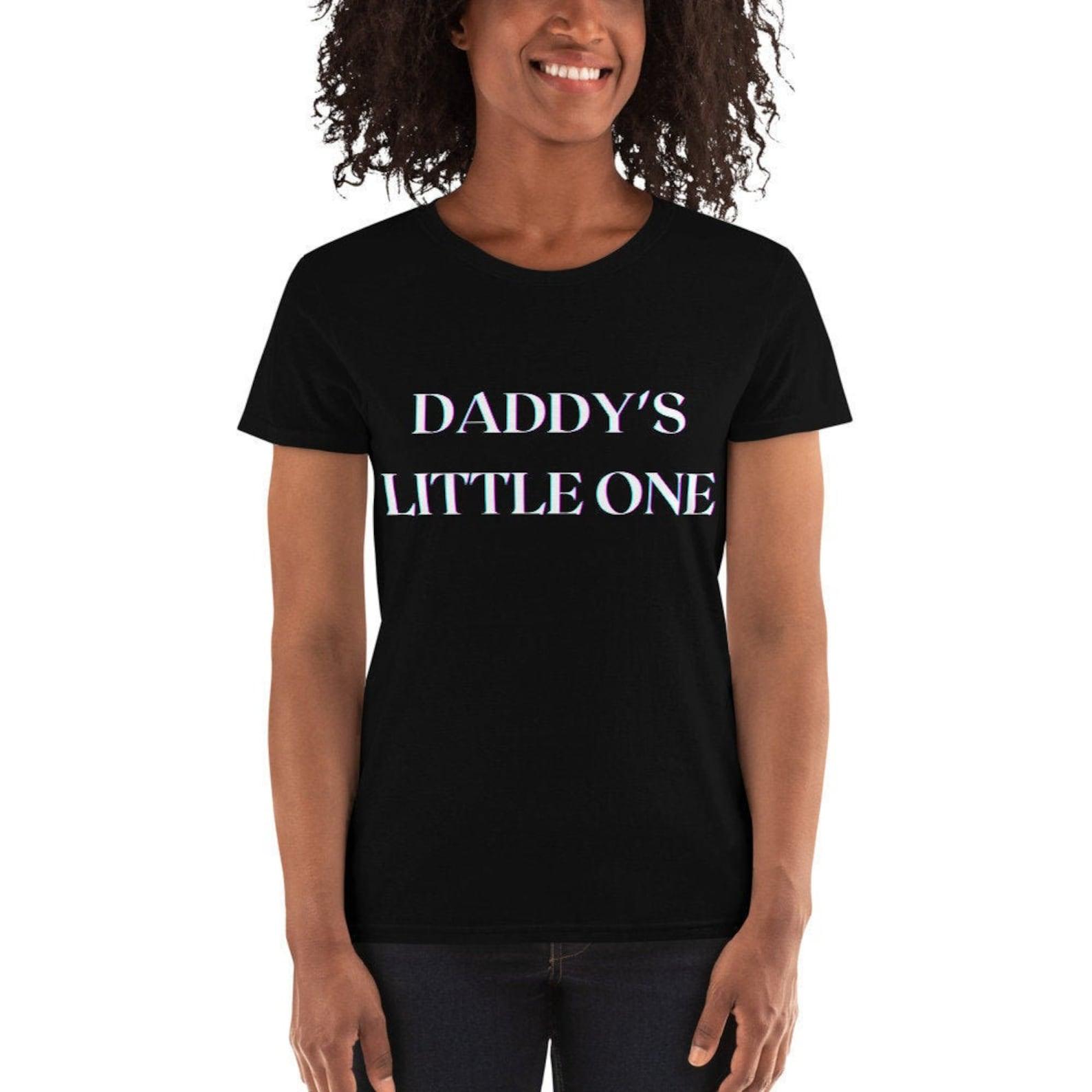 Papas kleine ein Hemd Ddlg Shirt Dom Sub-Tshirt Babygirl