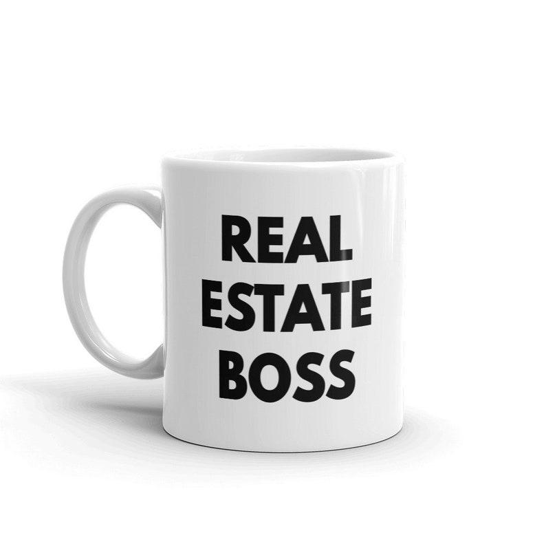 Real Estate Boss Mug / Real Estate Investor Gift Cup / Real Estate Agents  Mug / Estate Agent Mug / Real Estate Humor / Funny Real estate