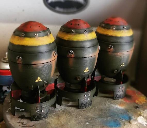 Fallout 4 Inspired Mini Nuke 7
