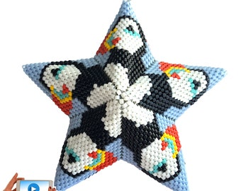 LOCKDOWN MENAGERIE BUNDLE Vol 3 Llamas Rubber Duckie Badgers and Giraffes 3D warped square Stars Owls