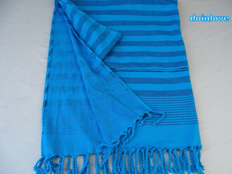 eea5a3b280 Turkish turquoise colour soft cotton terry bath towel beach | Etsy