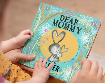 Personalised Dear Mummy Book | Birthday Gift for Mom | Gifts for Mom | Gifts From the Kids | Personalized Story | Dear Mommy