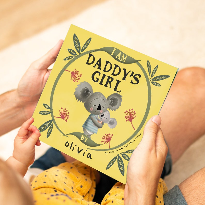This book is personalized especially for First-Dads. The story is told from the perspective of a child expressing their feelings toward their Dad. Daddy would love to tell his child this bedtime story for years to come.