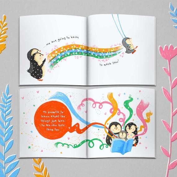 Personalisierte Kinderbuch Ein Versprechen An Sie Taufe Geschenk Geschenk Für Godchild Enkelkind Geschenk Für Nichte Neffe Personalisierte