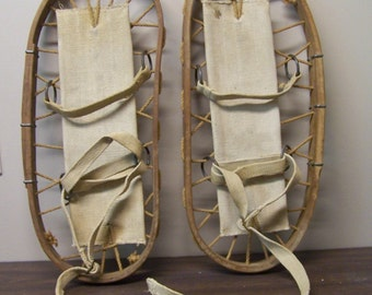 WW2 Bentwood Military Snowshoes