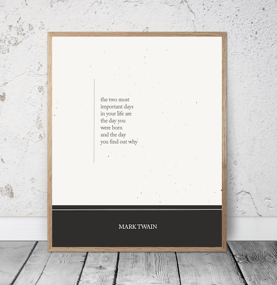 Mark Twain Quotes About Life | Mark Twain Quote Wisdom Quotes Inspirational Quotes Home Etsy