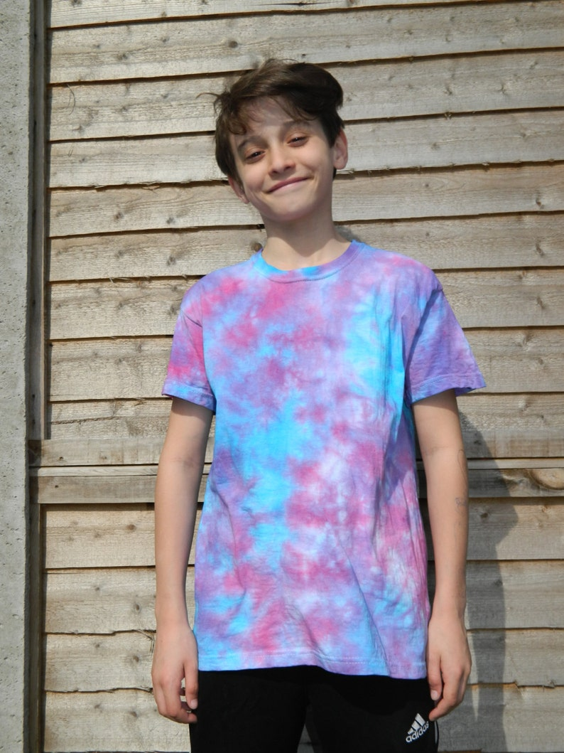 f44426bbe9479 KIDS Tie dye t shirt Retro summer t shirt dip dye festival hippy tie dye t  shirt Vintage children tie dye t shirt handmade kids t shirt top