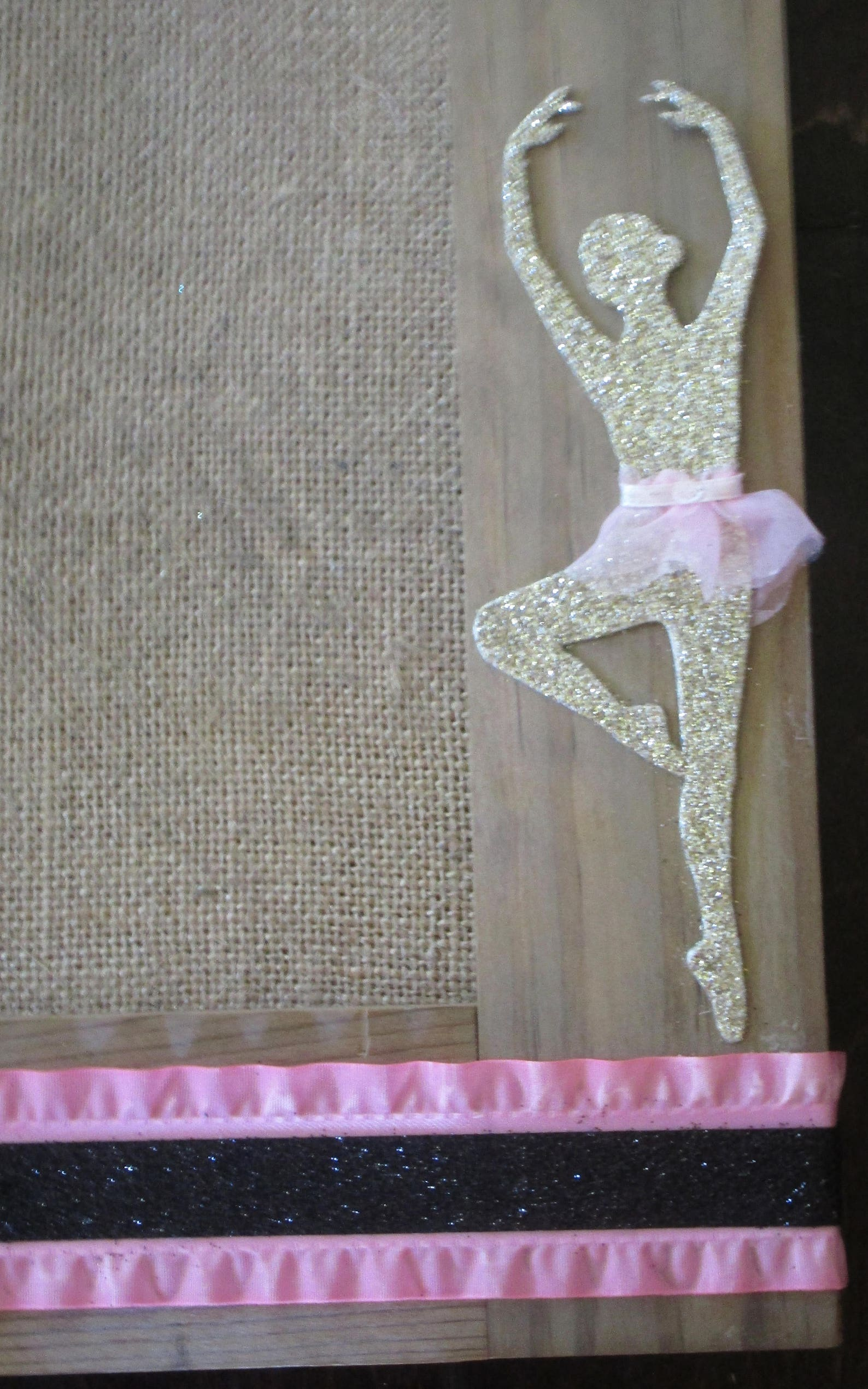 ballerina gift, ballet shoes, girl bulletin board, ballet wall decor, girl room decor, dance wall decor, ballet bulletin board,