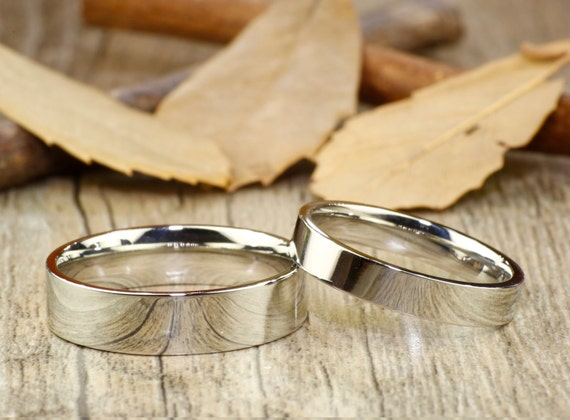 Romantic snowflake winter mood Snow lovers Silver handmade ring His /& hers Wedding bands christmas gift idea unisex sliver ring