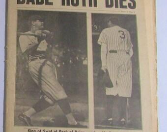 1948 Baseball Game Etsy