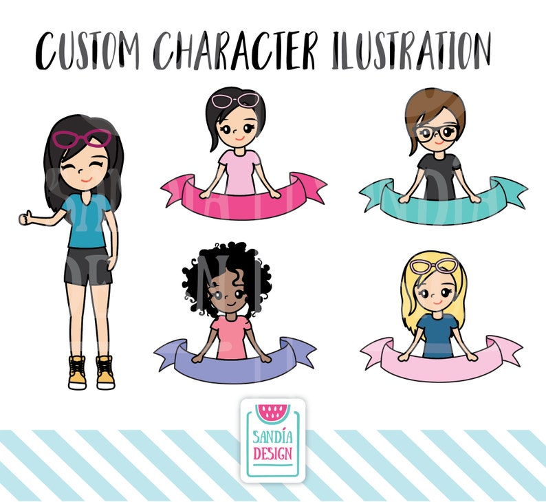 Custom doodle Icon Clipart Discount codes not applicable