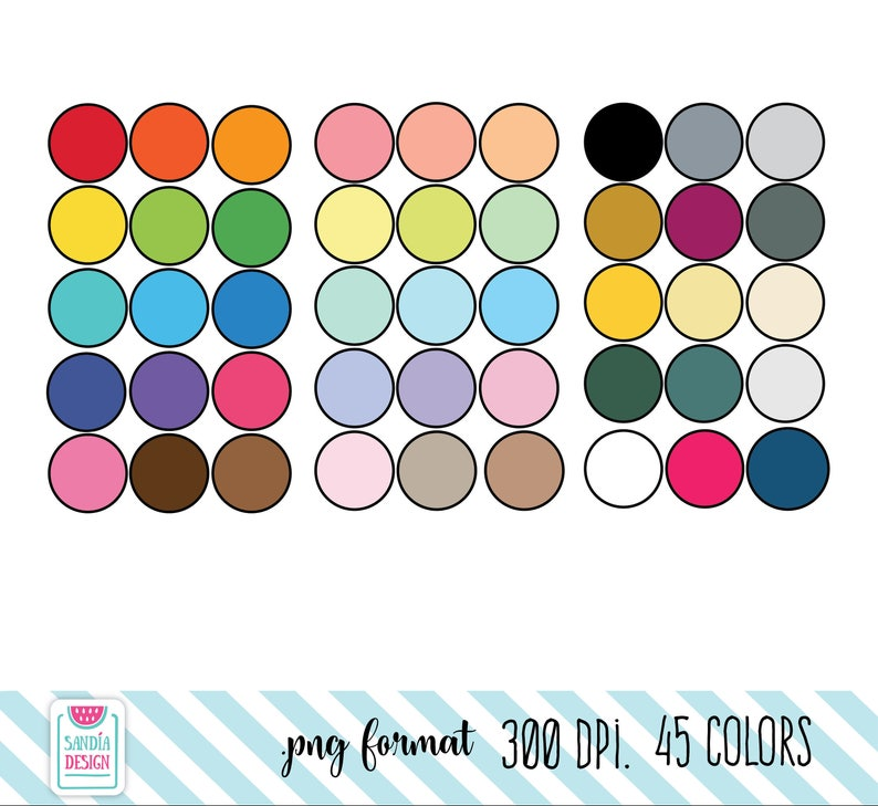 Personal and comercial use. 45 Doodle Drums Clipart