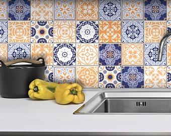 Tegel Decoratie Stickers : Zwart wit tegel stickers tegel stickers keuken gaat badkamer etsy