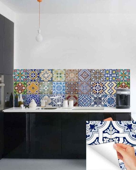 New Carrelage Stickers Ideas Bathroom Tile Sticker Set Of 24 Etsy