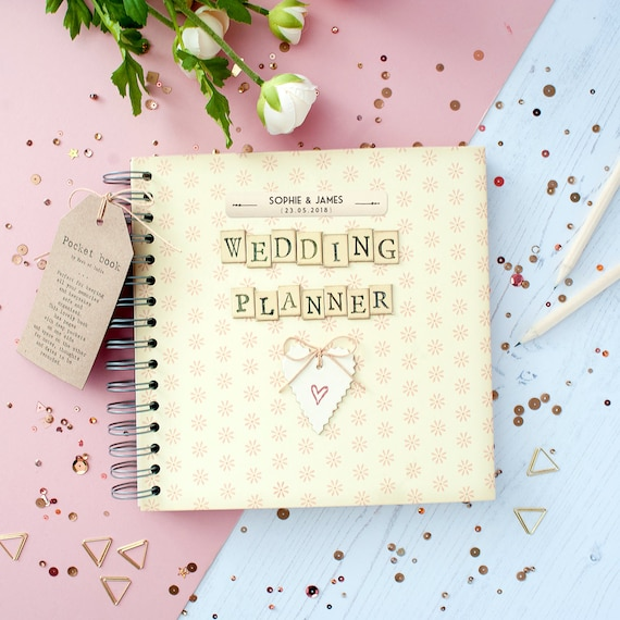 Wedding Planner Book Personalised Wedding Planner Book Etsy