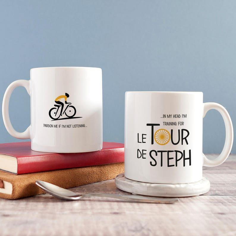 De Cyclisme Le Funny France Personnalisé Amateur Cycliste Tour Cadeau Tasse Mug w0PnOk