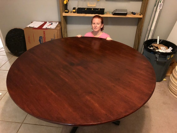 Round Table Top Table Tops Custom Table Top Only. Both Large or Small Size Table Tops Rustic or Elegant Style Table Top