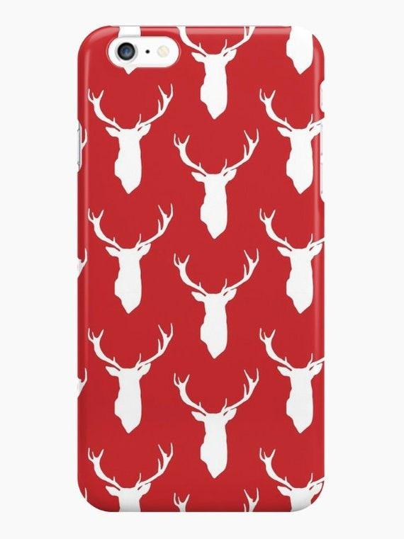 Christmas Phone Case Iphone 7.Christmas Phone Case Deer Iphone Case Iphone X Case Iphone 8 Case Iphone 7 Case Iphone 6 Case Holiday Phone Case Xmas Iphone Case
