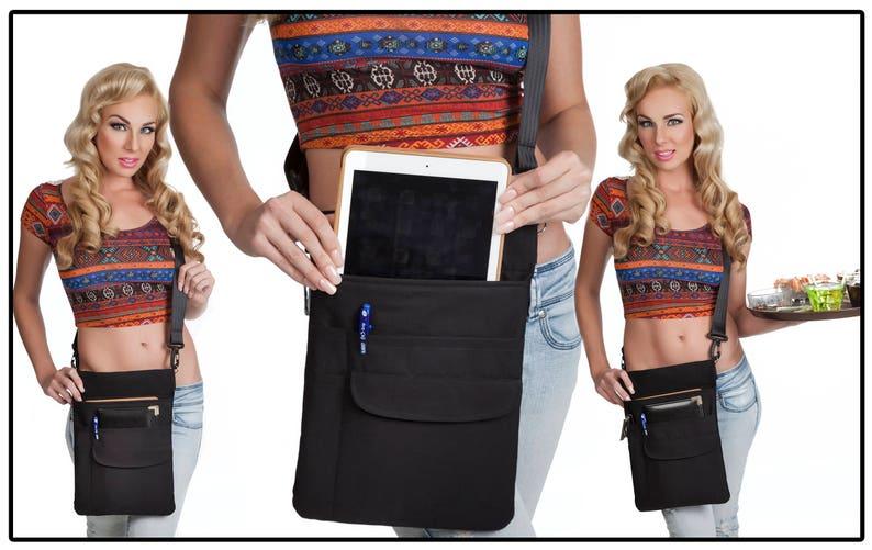 Incredible Quality 10 Tablet Ipad Holster Pouch Apron Adjustable Shoulder Sling Usa Interior Design Ideas Oteneahmetsinanyavuzinfo