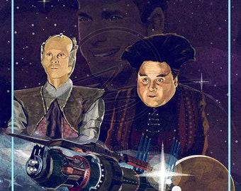 Babylon 5 25th Anniversary Series: Vir & Lennier