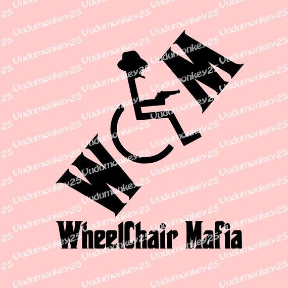 Rollstuhl Mafia Oldschool Aufkleber Aufkleber Auto Lkw Laptop Etsy