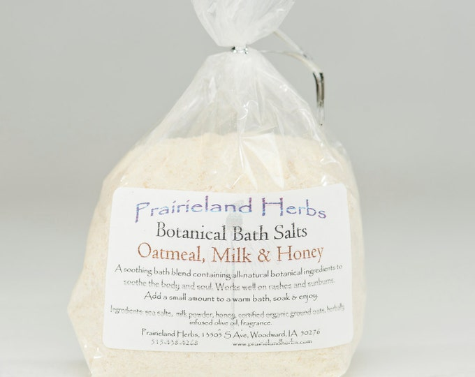 Botanical Bath Salts moisturizing