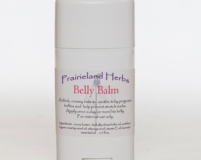 Belly Balm - pregnancy cream for stretch marks - cocoa butter balm