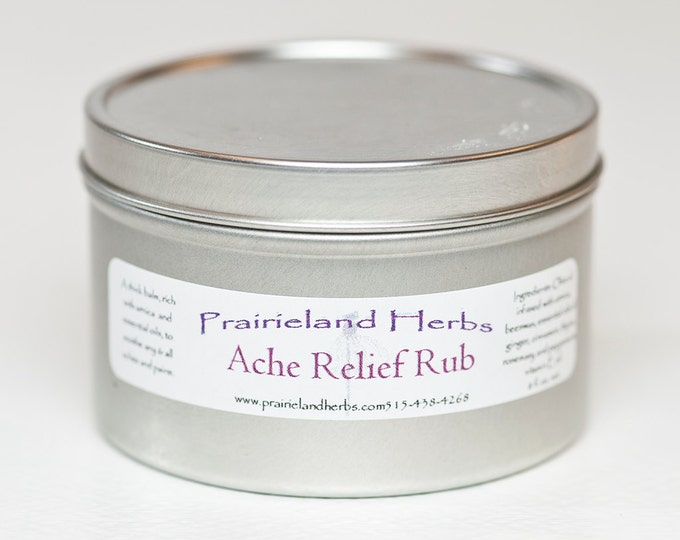 Ache Relief Rub - arnica rub for sore muscles
