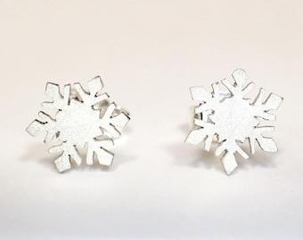 """Earrings """"snowflake"""" 925 Sterlingsilver"""
