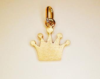 Pendant Crown Coronet Gold 8ct