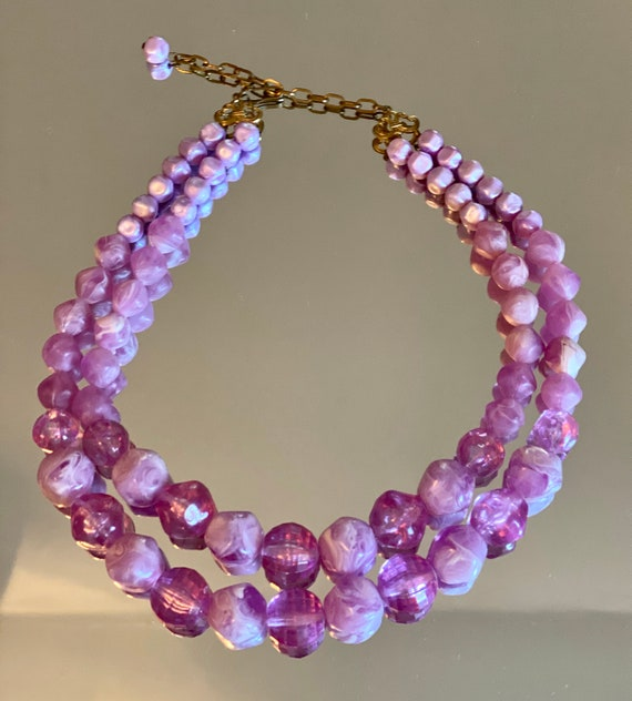 Vintage Beaded 1960's Necklace